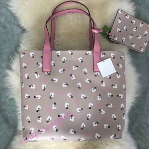 NWT Kate Spade Arch Place tote and pouch